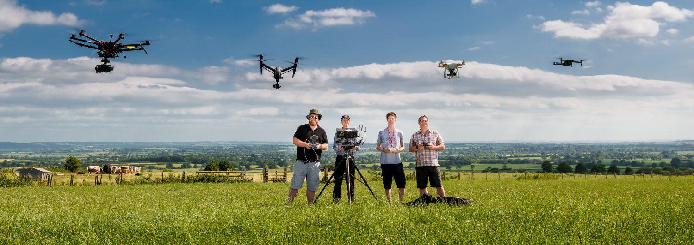 expert drone videographers